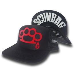 Toxico Clothing Scumbag Duster Trucker Hat (Black)