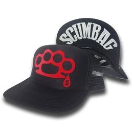 Toxico Clothing Scumbag Duster Trucker Hat (Black)