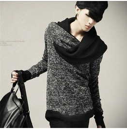 Personalized Urban Fashion Men's Knitted Sweater