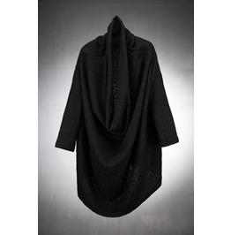 Loose Fit Drape Knit Cardigan