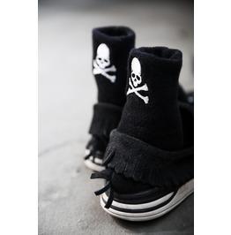 Skull Patch Socks