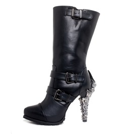 High Heels Biker Boots Pirate Steampunk Gothic