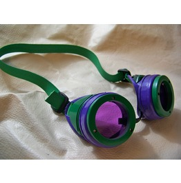 Super Villain Joker Steampunk Goggles