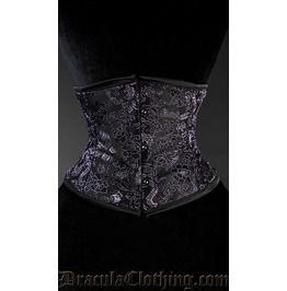 Brocade dragon waist cincher bustiers and corsets