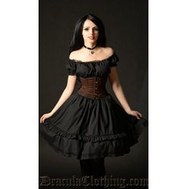 Black gothabilly dress dresses