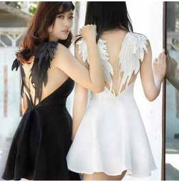 Wings dress vestido alas wh193 dresses
