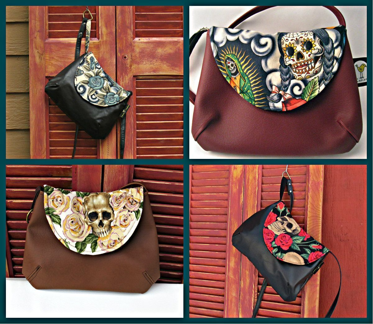 Featured Store: Canary Created Amazing Sugar Skull Bags!