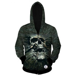 Rock Skull Mens Hood Hoodie Sweatshirts Hooded Men Size S M L Xl