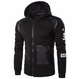 Mens Hood Rock Punk Sweatshirts Hip Hop Fashion Stylish Hoodies Men