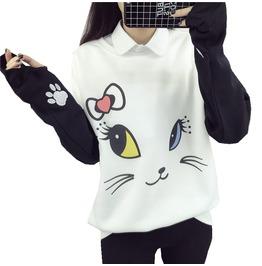 Cat Sweatshirt / Sudadera Gato Wh304
