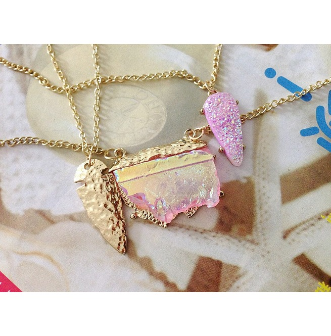 rebelsmarket_bohemian_pink_gemstone_triple_necklace_in_gold_color_pendants_4.jpg