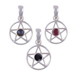 Pentagram 925 Sterling Silver Pendant