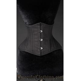 Black Cotton Extreme Waist Cincher