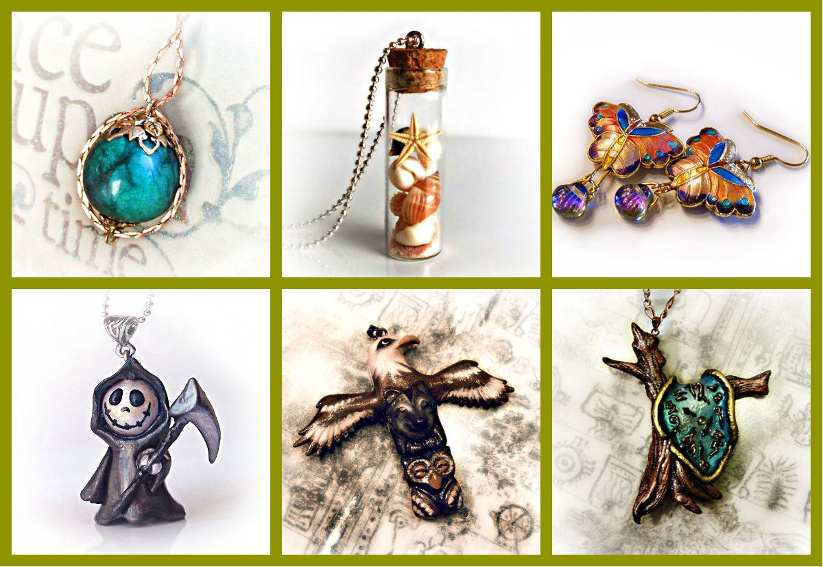 Featured Store: Handmade Jewelry By UraniaArt