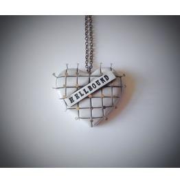 Hellbound Hellraiser Horror Heart Necklace