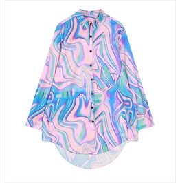 Hologram Blouse / Camisa Holograma Wh307