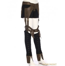 Sp 190 Bc Steampunk Removable Legs Pants For Women