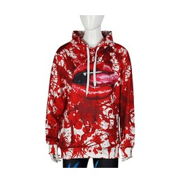 New Arrival 3 D Pattern Printed Couple Hoodies