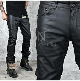 Basic Coated Black Slim Jeans 246