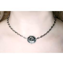 Submissive Bdsm Collar Necklace Choker Dominant Fetish Slave Birthday Gift