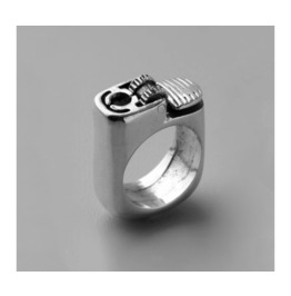 Amazing Silver Punk Lighter Ring