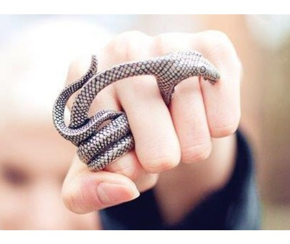 Punk Snake Head Three Fingers Ring_Rings_3.jpg