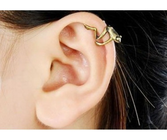 Vintage Little Frog Ear Cuff_Earcuffs_3.jpg