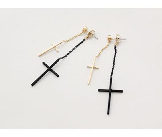 fashion_two_colors_cross_long_dangle_earrings_earrings_3.jpg