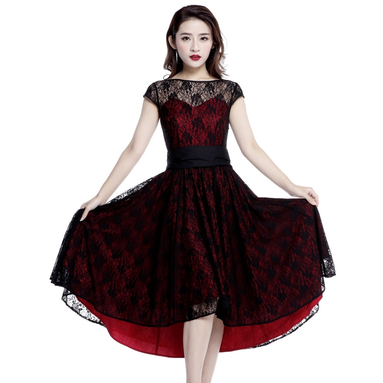 rebelsmarket_red_black_lace_party_gothic_rockabilly_50s_dress_regand_plus_sizes_9_to_ship_dresses_2.jpg