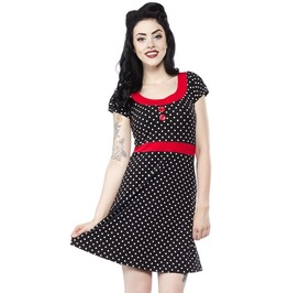 Sourpuss Polka Dot Beki Dress