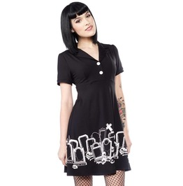 Sourpuss Grave Digger Rosie Dress