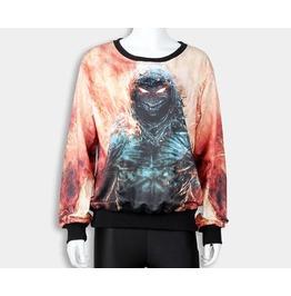 New Street Fashion Crewneck Printed Women Men Sweatshirt