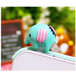 Cute Elephant Cell Plug Cell Phone
