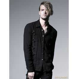 Y 525 Gothic Dark Long Sleeves Shirt For Men