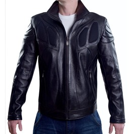 Serpentine Mens Genuine Leather Jacket