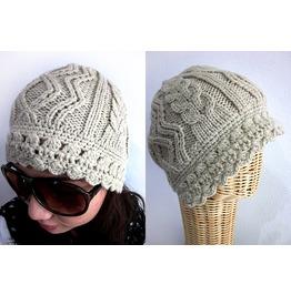New Lady Pretty Beanie Winter Knit Hat Free Size
