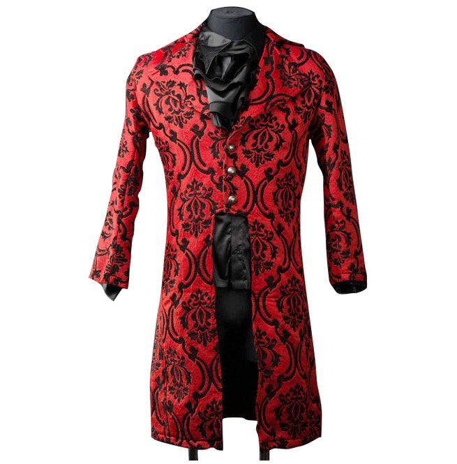 rebelsmarket_mens_red_jacquard_victorian_gentleman_tailcoat_9_to_ship_worldwide_jackets_4.jpg