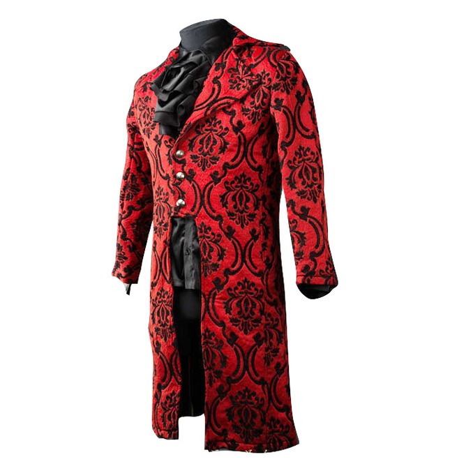 rebelsmarket_mens_red_jacquard_victorian_gentleman_tailcoat_9_to_ship_worldwide_jackets_3.jpg