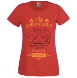 Pokemon Master T Shirt Charizard Kanto Starter