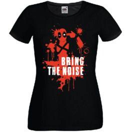 Deadpool Inspired T Shirt Bring The Noise