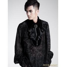 S 131 Black Gothic Collar