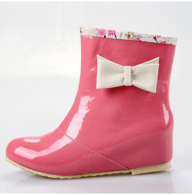 rebelsmarket_bow_rain_boots_botas_lluvia_lazo_wh663_boots_4.jpg