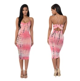 Bodycon Sleeveless Evening Sexy Party Cocktail Pencil Mini Dress