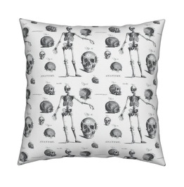 Skeleton Anatomy Decorative Throw Cushion Pillow Covers