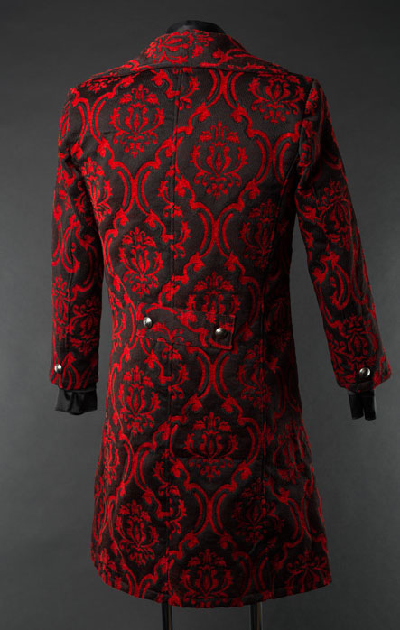 rebelsmarket_mens_red_black_brocade_victorian_gentleman_tailcoat_9_to_ship_worldwide_jackets_5.jpg