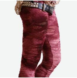 af412aac067768 Punk Decay Distressed Broken Hole Burnout Bloody Tie Dye Mummy Legging