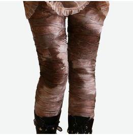Punk Distressed Broken Hole Burnout Mud Rock Canyon Tie Dye Mummy Legging
