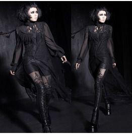 Gothic Stretch Punk Rave Leggings