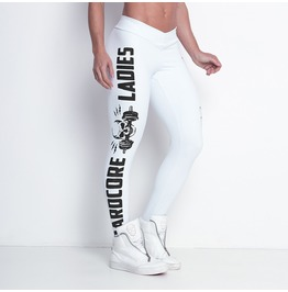 Hardcore Ladies White Snow Leggings