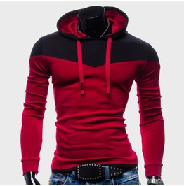 Men's Hoodies Hoody Sweatshirt Red / Blue / Gray / Black Colors Men New